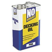 No Nonsense Timber Decking Oil Pine 5Ltr