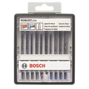 Bosch RobustLine Wood & Metal Expert JSB Jigsaw Blade Set 10Pcs