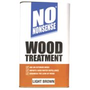 No Nonsense Wood Treatment Light Brown 5Ltr