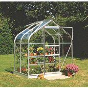 Halls Supreme 46 Aluminium Greenhouse Toughened Glass 1930 x x