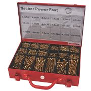 Fischer Screws Trade Case 2300 Pieces