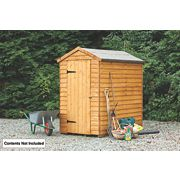 Forest Larchlap Overlap Apex Security Shed 4 x 6 x 7