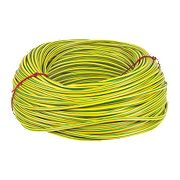 PVC Sleeving 6mm x 100m Green/Yellow
