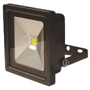 LAP Slimline LED Floodlight 10W Black