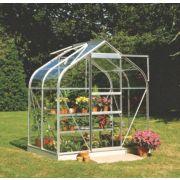 Halls Supreme 46 Aluminium Greenhouse Horticultural Glass 6' 3 x 4' 3 x