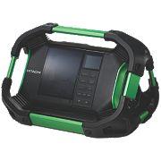 Hitachi UR18DSDL/J4 14.4V/18V/230V DAB/Bluetooth Site Radio