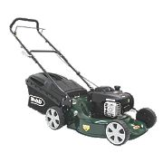 Webb WER18HP 46cm 125cc Push Rotary 3-in-1 Petrol Lawn Mower