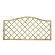 Forest Hamburg Open-Lattice Fence Panels 1.8 x 0.9m Pack of 5