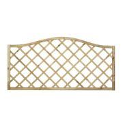 Forest Hamburg Open-Lattice Fence Panels 1.8 x 0.9m Pack of 5