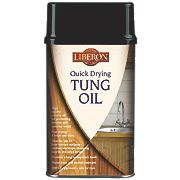 Liberon Quick Drying Tung Oil Clear 1Ltr