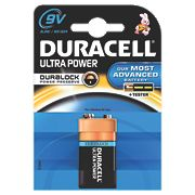 Duracell Ultra 9V Alkaline Battery