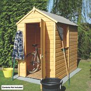 Shire Shiplap Solid Sheet Apex Shed 4
