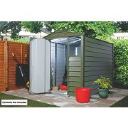 Trimetals Titan 680 Apex Shed Metal 1860 x 2470 x 2140mm