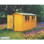 Shire Shiplap Heavy Duty Apex Shed 10