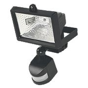 Black PIR Photocell 120W Black 2216Lm
