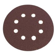 Flexovit Sanding Discs Punched 125mm 50 Grit Pack of 6
