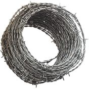 Apollo mm Steel Barbed Wire x 50m