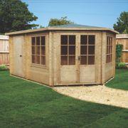 Leygrove Log Cabin 4.3 x 2.9 x 2.8m