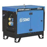 SDMO 6000ES 5200W Diesel Generator 230V/110V