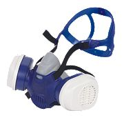 Draeger X-plore 3300+ R57794 Chemical Half Mask with Filters P3