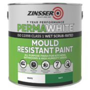 Zinsser Perma-White Self-Priming Paint Matt White 2.5Ltr