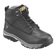 JCB Fast Track Safety Boots Black Size 11