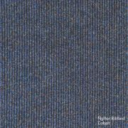 Heuga Ribbed Heavy Contract Carpet Tiles Cobalt Pack of 20