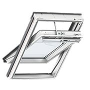 Velux Integra Solar Roof Window Centre-Pivot Noise Reduction Clear 550x780mm