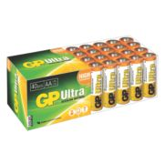 GP Batteries Ultra Alkaline Batteries AA Pack of 40