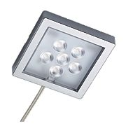 Sensio Largo LED Cabinet Surface Lights Aluminium Pack of 4