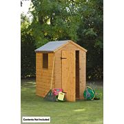 Forest Larchlap Shiplap Apex Shed 6 x 4 x 7