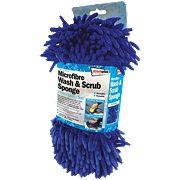Foam Microfibre Wash & Scrub Sponge