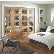 Jeld-Wen Shaker Solid 4 Panel Interior Room Divider 2052 x 2550mm