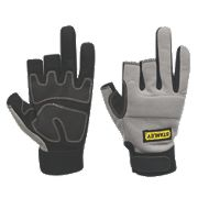 Stanley Performance 3-Finger Framer Gloves Grey