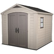 Keter Apex Shed Plastic 8 x 8 x 7