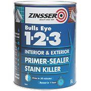 Zinsser Bulls Eye 1-2-3 Primer Sealer 5Ltr