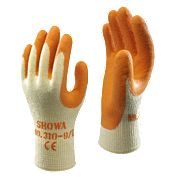 Showa Best 310 Best Original Builders Gloves Orange Large