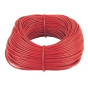 PVC Sleeving 4mm x 100m Red
