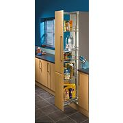 Hafele Pull Out Larder Unit 300mm Chrome