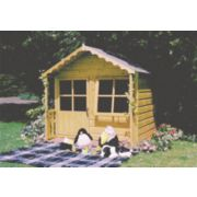 Kitty Playhouse 3' 9 x 3' 9 x 1.6m
