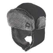 Hyena Glacier Trapper Hat Black