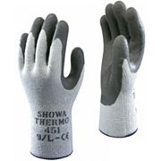 Showa 451 Thermal Grip Gloves Blue Medium