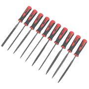 Forge Steel 150mm Needle File Set 10Pcs