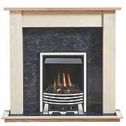 Focal Point Elysee Gas Inset Suite Ash Veneer