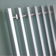 Kudox Filomena Designer Towel Radiator Chrome 800 x 600mm 358W 1222Btu
