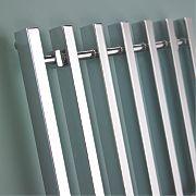 Kudox Filomena Designer Towel Radiator Chrome 800 x 600mm 358W 1222Btu