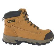 Stanley Milford Safety Boots Honey Size 9