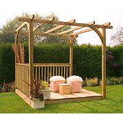 Larchlap Ultima Pergola & Patio Deck Kit 2.4 x 2.4 x 2.4m
