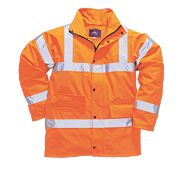 "Hi-Vis Traffic Jacket Orange XX Large 50-52"" Chest"