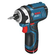 Bosch 0.615.990.G0A 10.8V 1.5Ah Li-Ion Cordless 5 Piece Kit